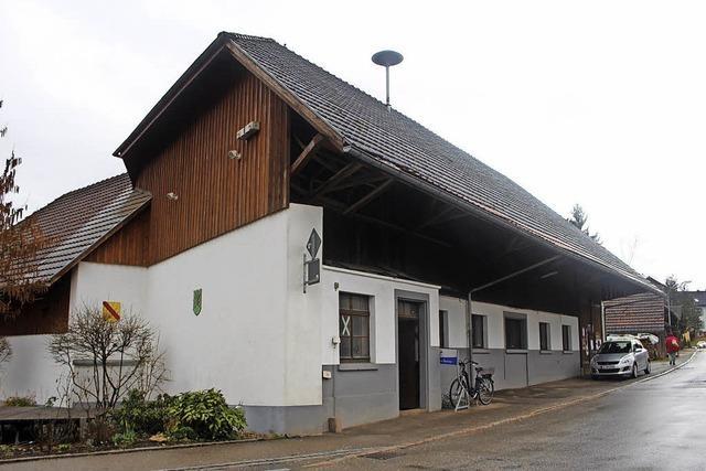 Werkhof im Herbst reif für Bauantrag