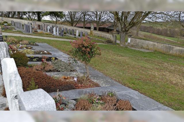 Wunsch: Bestattungen am Samstag