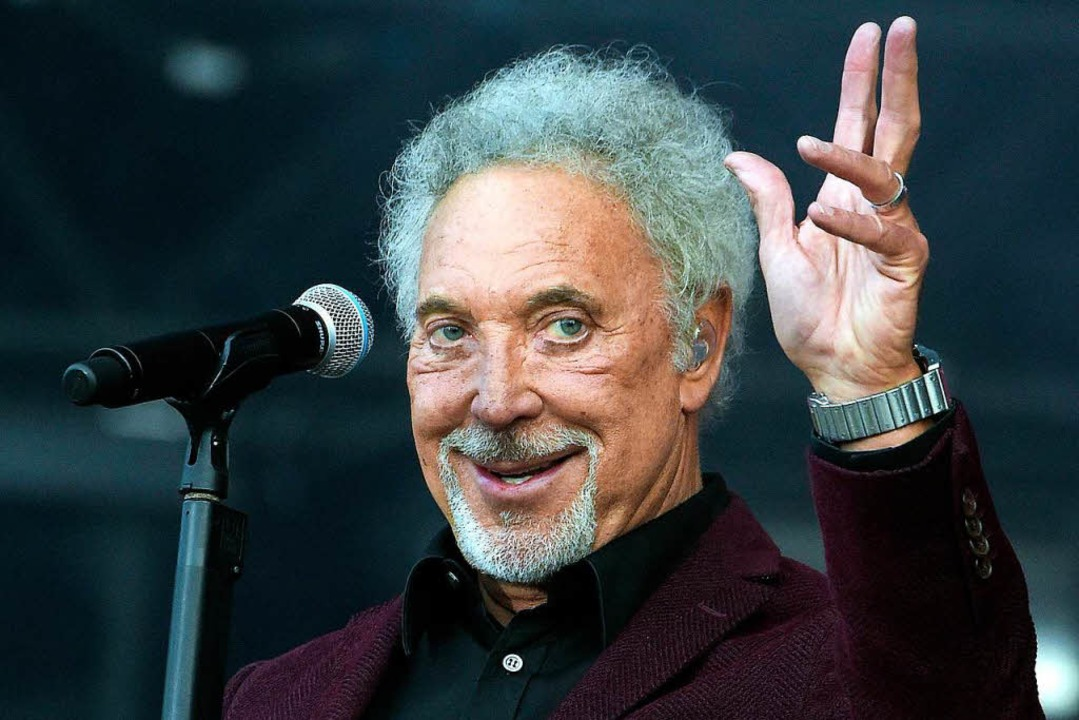 Tom Jones singt am 1. August im Zirkuszelt  | Foto: Hugo Marie