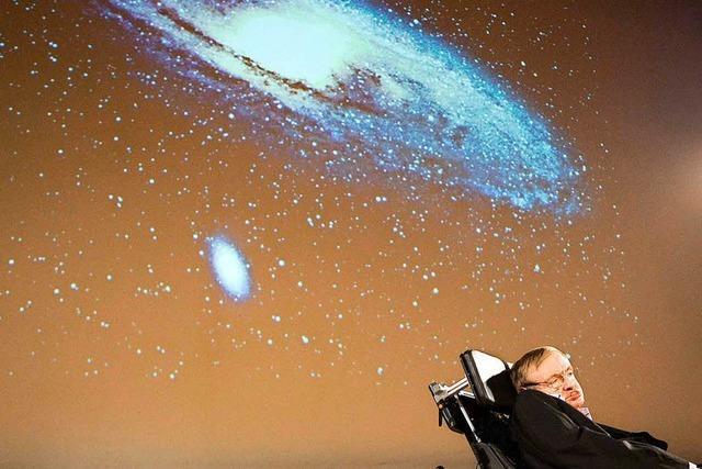 Britischer Astrophysiker Stephen Hawking mit 76 Jahren gestorben