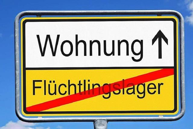 Viele Flüchtlinge finden in Rheinfelden selbst eine Wohnung