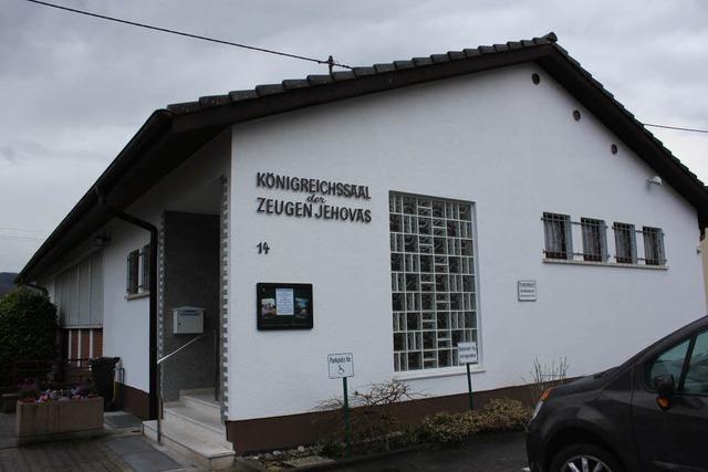 Im Königreichssaal in Grenzach-Wyhlen sollen Wohnungen entstehen