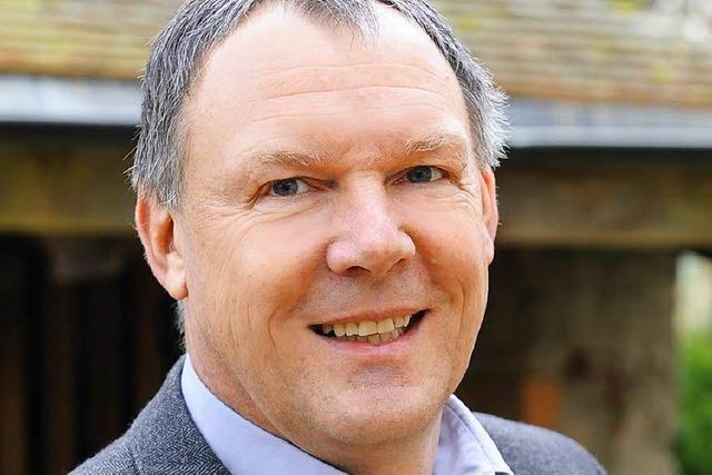 Johann Albrecht ist der fünfte Kandidat fürs Bürgermeisteramt