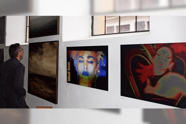 Plastiken, Videos, Malerei und mehr