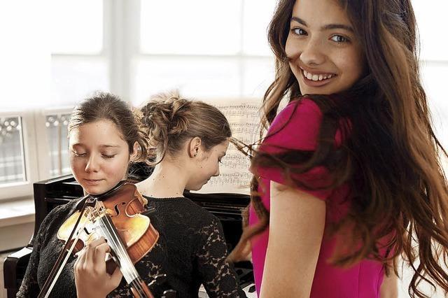 Laura Bretan gibt am Samstag, 17. März, mit Hanna und Katrin Friedrich Konzert im Gloria-Theater in Bad Säckingen