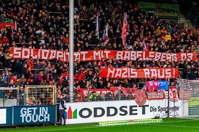 SC Freiburg solidarisiert sich mit Babelsberg 03 im Kampf gegen