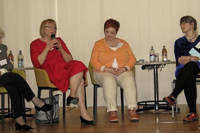 Eine Gesprächsrunde mit profilierten Frauen