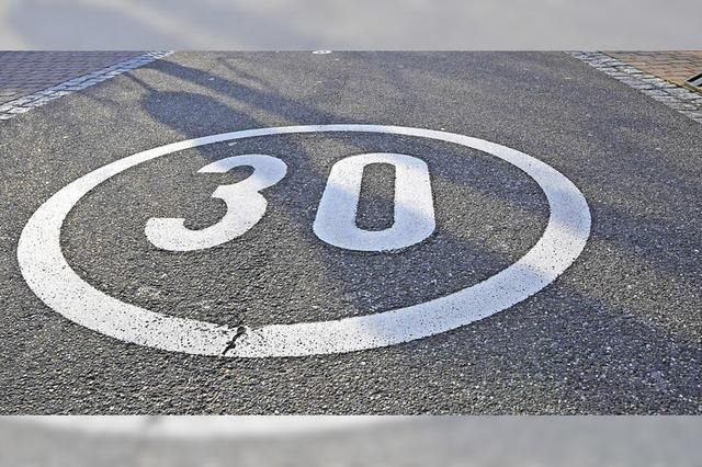 Vorschlag Nummer drei zu Tempo 30