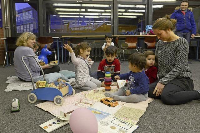"""Der Verein """"Bildung für alle"""" bietet Deutschkurse für Flüchtlinge und Kinderbetreuung an"""