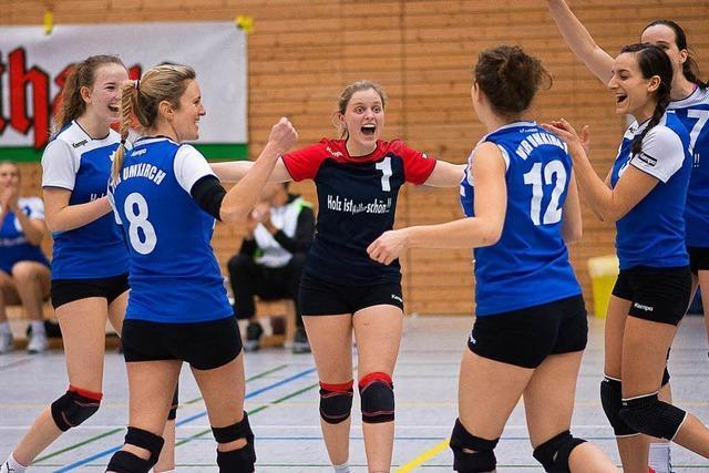Volleyballerinnen des VfR Umkirch steigen in Dritte Liga auf