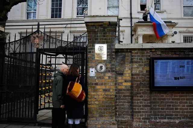 Londons Attacke auf Moskau – hart im Ton, in der Sache eher mild