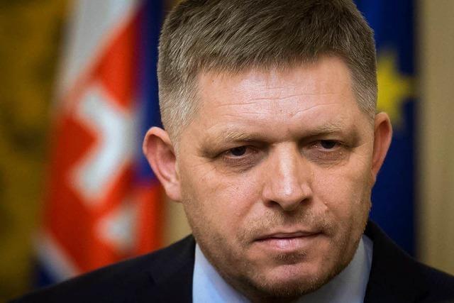 Slowakischer Regierungschef Fico bietet Rücktritt an