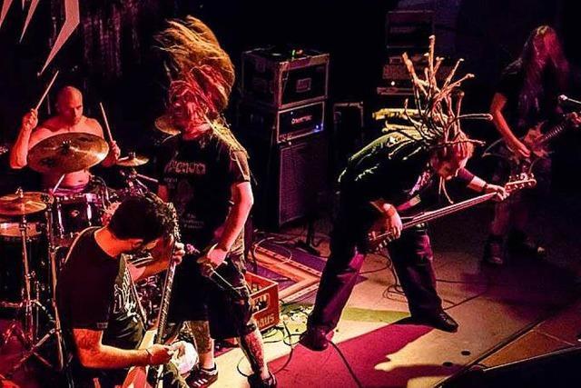 Das Metal Café ist Lörrachs Zentrum der Headbanger-Szene