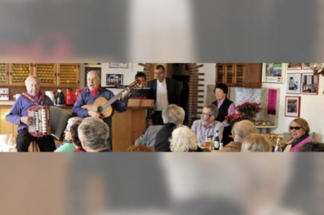 Aus Leidenschaft am Gesang