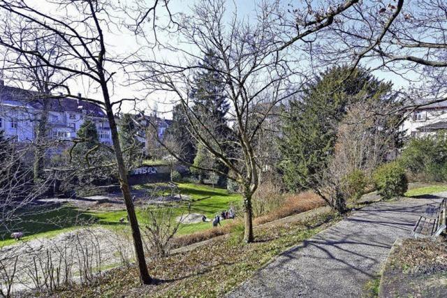 Bevor die Stadt den Park am Pulverturm saniert, können Anwohner Vorschläge einbringen