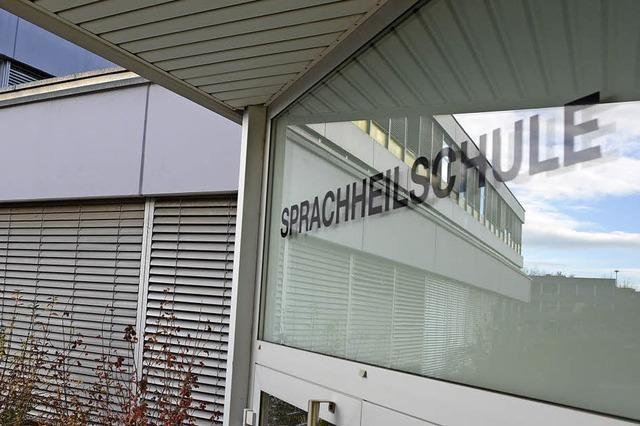 Sprachheilschule auf Standortsuche