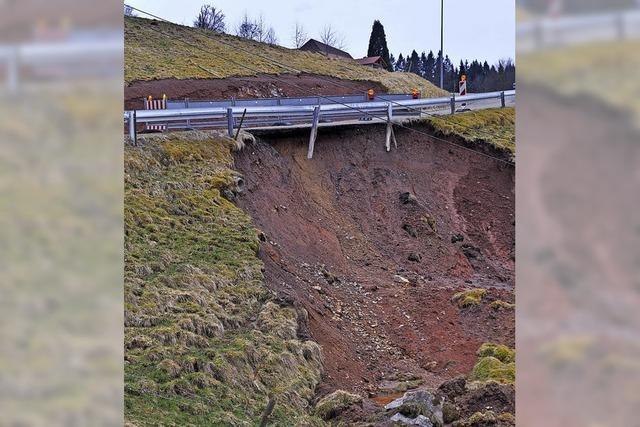 Teure Erdrutsch-Sanierung