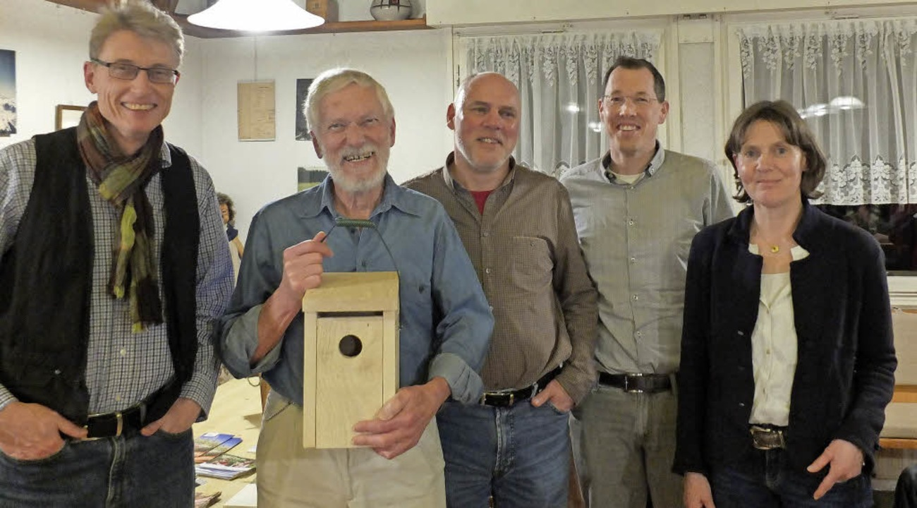 Andreas Lang, Rolf Dietrich, Armin Kre...er und Annette Windhausen (von links)   | Foto: Martina David-Wenk