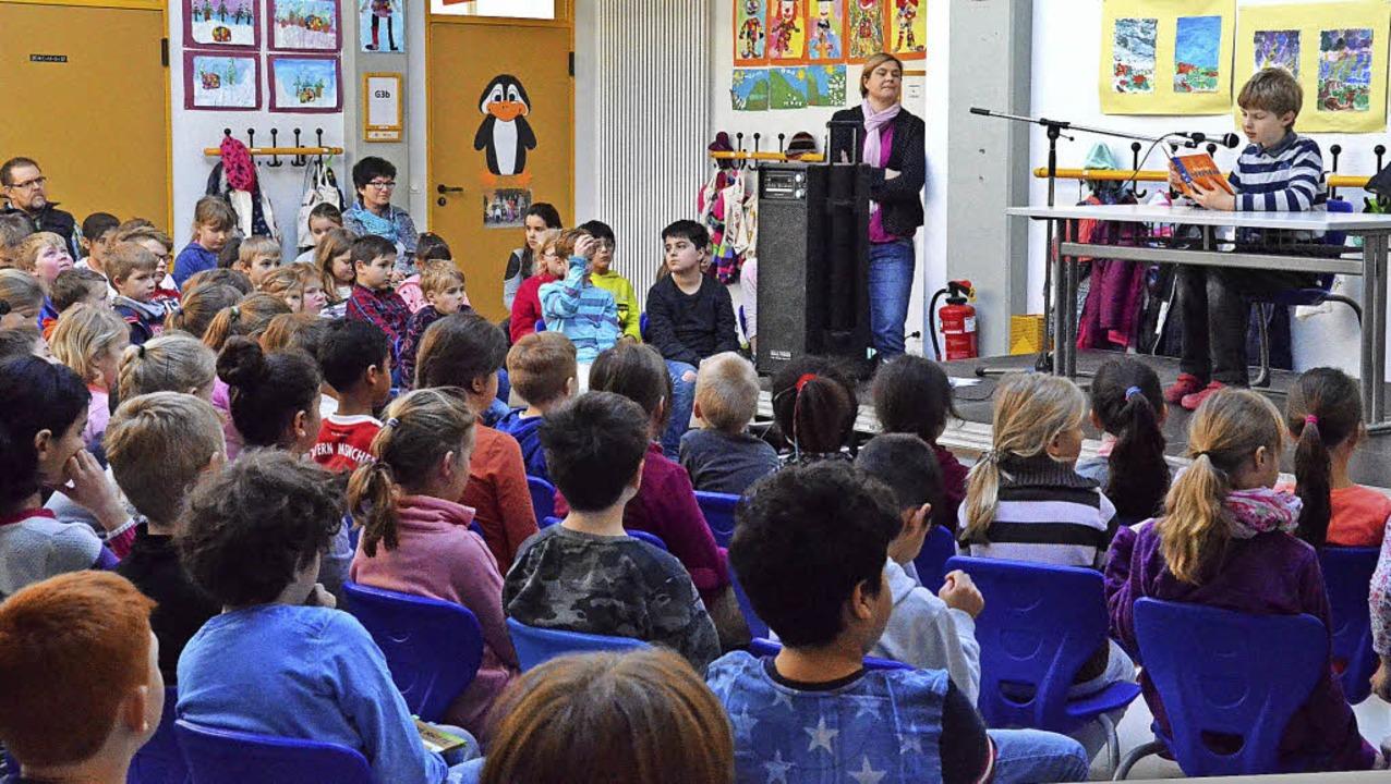 16 Schüler nahmen an zwei Tagen am Vor...bt-Gerbert-Schule in St. Blasien teil.  | Foto: Sebastian Barthmes