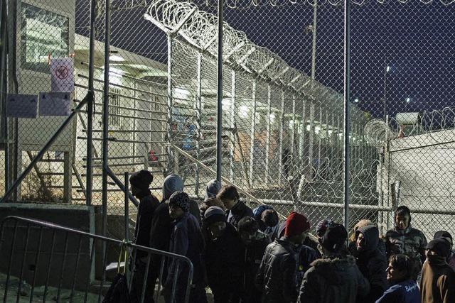 Auf Lesbos ist die Reise oft zu Ende