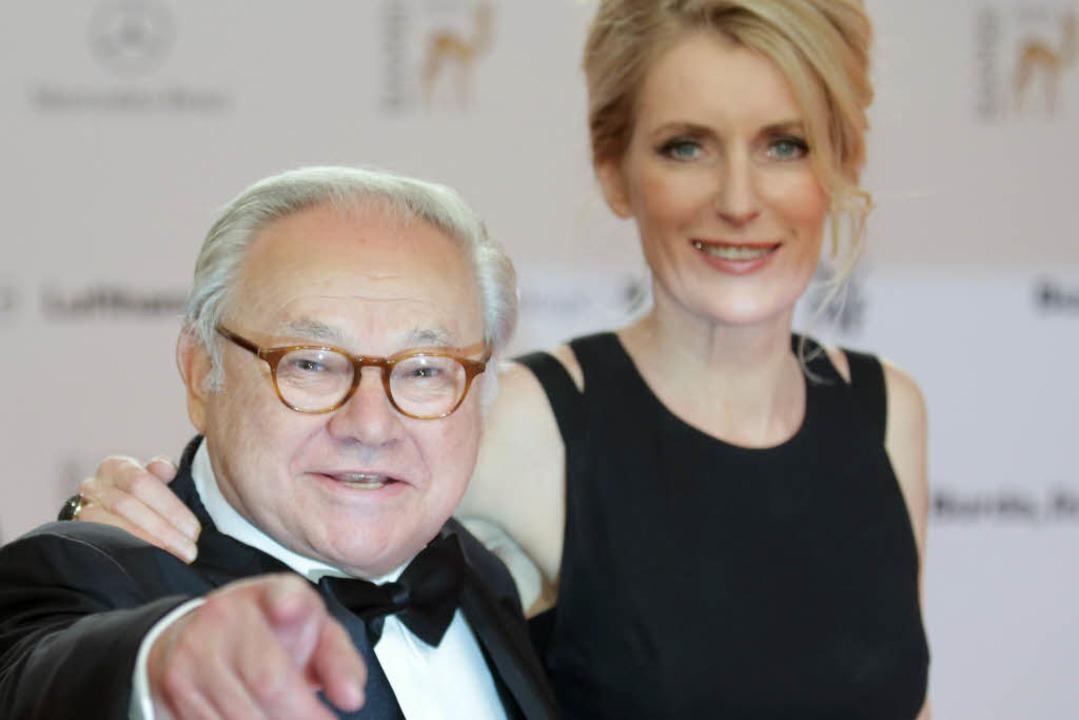 Hubert Burda und Maria Furtwängler  | Foto: dpa