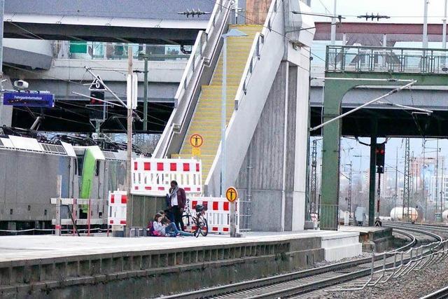 Bahnhalt Weil: Der Dreizack geht am 5. April in Betrieb