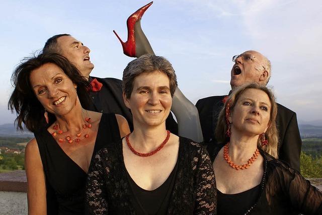 Quintett Inflagranti Vokal mit