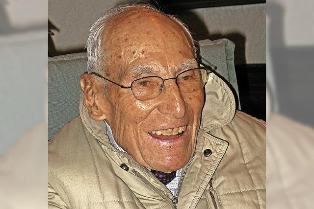 Ein sportlicher Schwarzwälder Tüftler wird 95