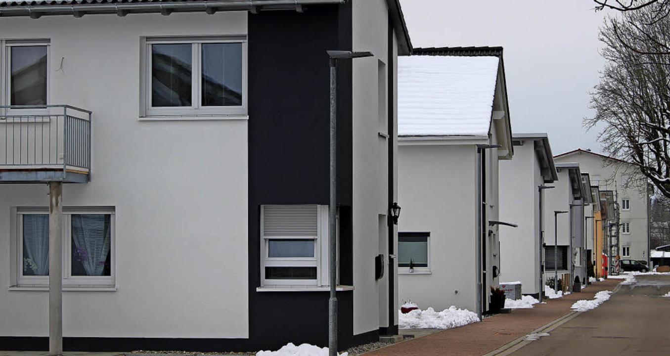 Einfamilienhäuser haben das Gesicht de...ine Entlastung für Eigenheimbesitzer.     Foto: Guy Simon
