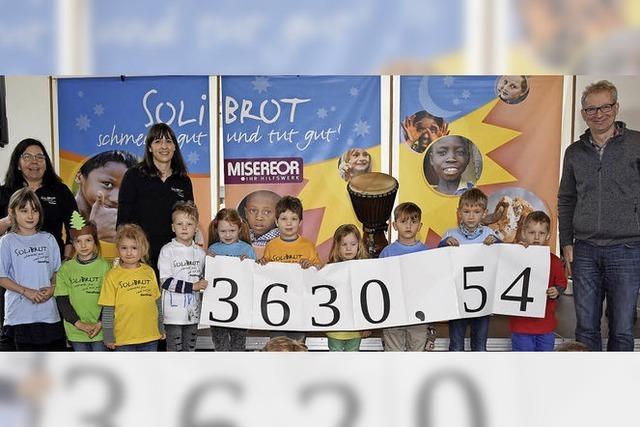 Kinder sammeln 4000 Euro für indisches Projekt