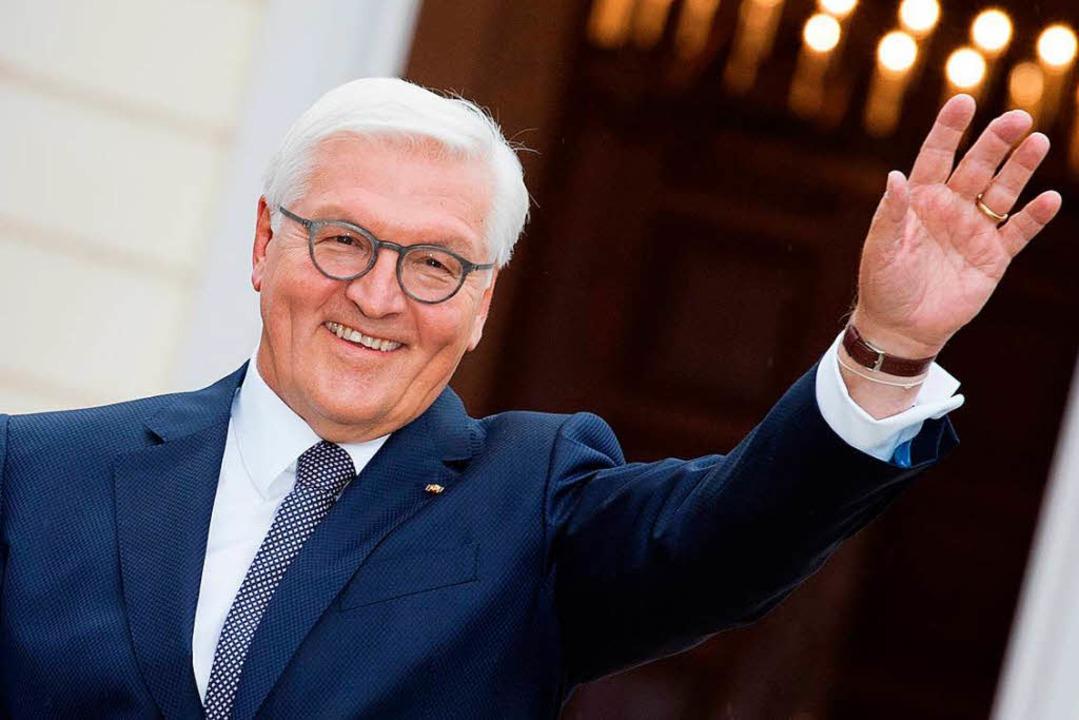 Frank-Walter Steinmeier ist seit einem Jahr Bundespräsident    Foto: dpa