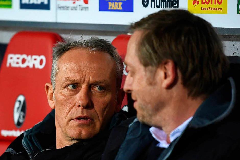 Der SC Freiburg musste sich dem VfB Stuttgart letztlich mit 1:2 geschlagen geben. Während die Schwaben den Klassenerhalt so gut wie sicher haben, braucht der Sportclub nach der Länderspielpause dringend Punkte. (Foto: dpa)