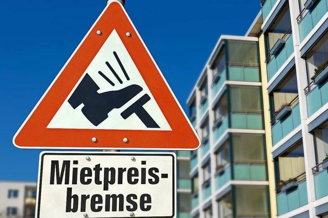 Mietpreisbremse zeigt laut Studie in Lörrach ihre Wirkung