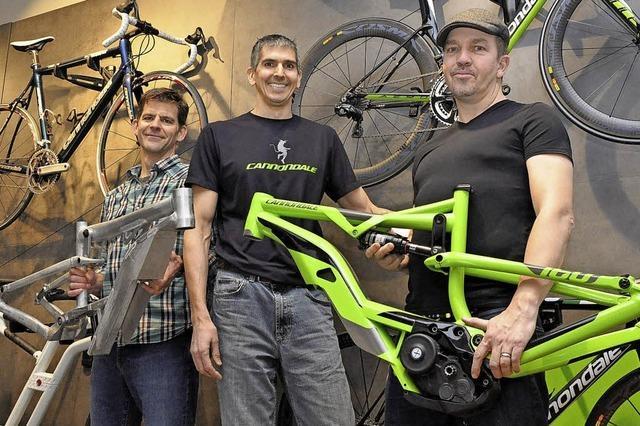 Bike-Technologie vom Brauereigelände