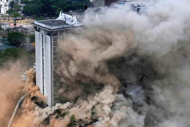 Touristenhotel in Manila in Flammen – mindestens vier Tote