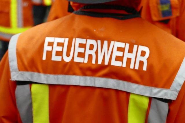 Nächtliches Feuer in Rheinfelder Badezimmer