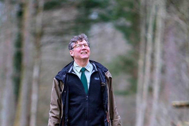 Forstdirektor Jürgen Schmidt geht in Ruhestand