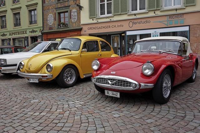 Oldtimer auf dem Münsterplatz