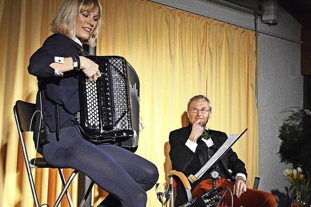 Christine Schmid und Peter Schell begeistern in Herrischried
