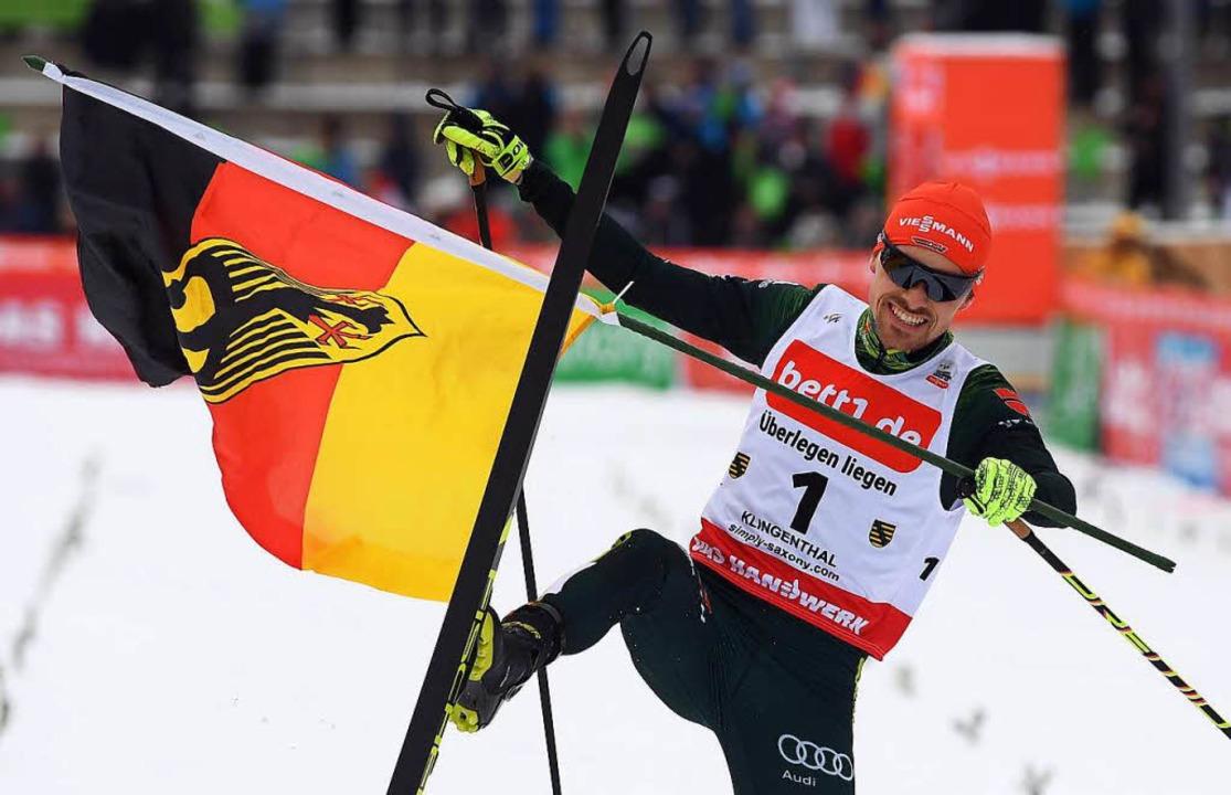 In der Form seines Lebens: Fabian Rießle von der Skizunft Breitnau  | Foto: dpa