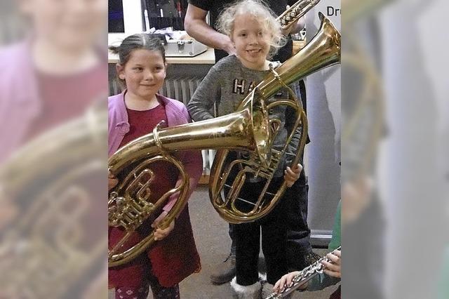 Musiker werben erfolgreich Nachwuchs