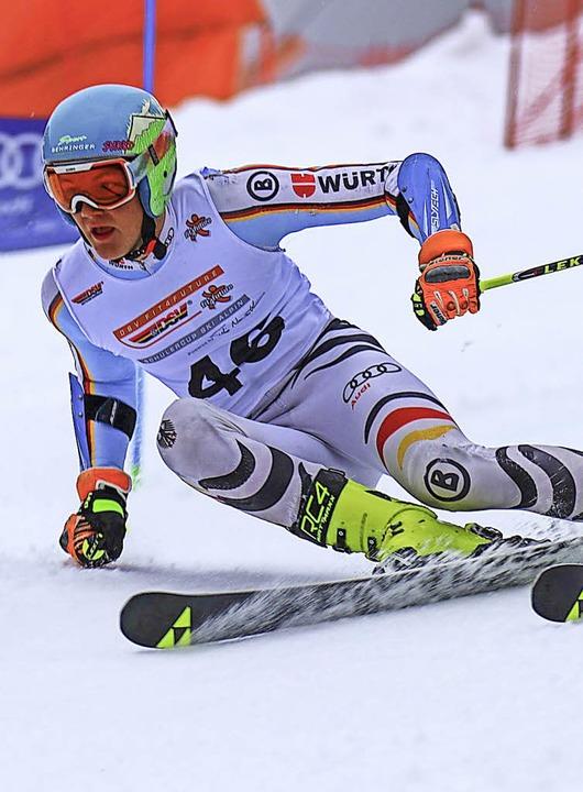 Marco Behringer wurde DM-Dritter im Riesenslalom.  | Foto: Siegmund