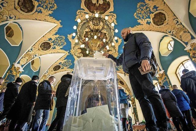 Putin siegt haushoch