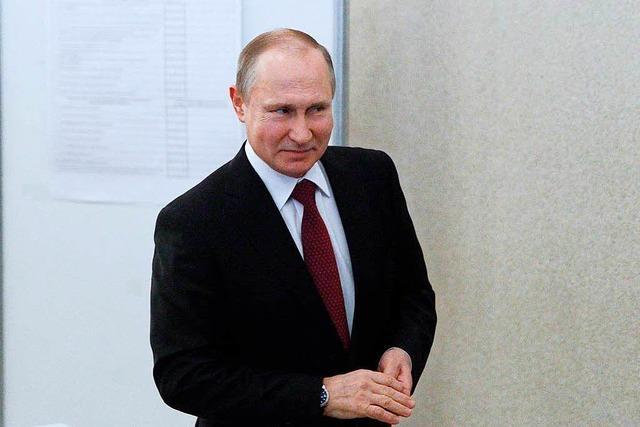 Putins Wahl zeigt: Die Russen sind politikmüde