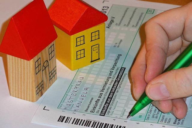 Vermieter können viele Ausgaben von der Steuer absetzen