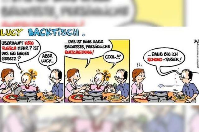 Lucy Backfisch: Kein Fleisch
