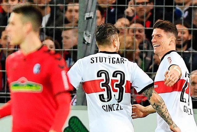 Dem Schiedsrichter im SC-Spiel gegen Stuttgart gehört ein Augenarzt empfohlen