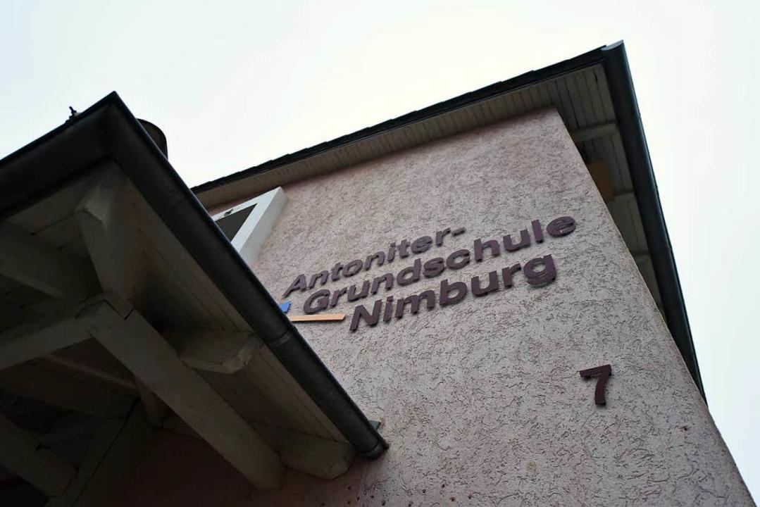 Der Vorfall ereignete sich an der Antoniter-Grundschule Nimburg.  | Foto: Jonas Hirt