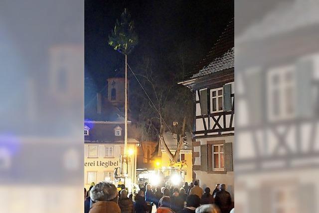 Riegeler Bürger und Vereine feiern ihren neuen Bürgermeister