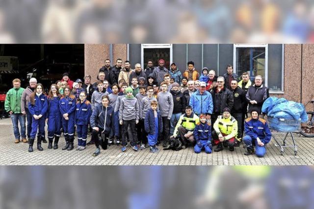 Mit vorbildlichem Gemeinschaftssinn gegen die Müllflut